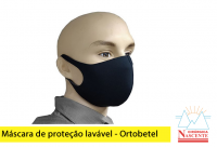 Máscara de proteção lavável - Ortobetel